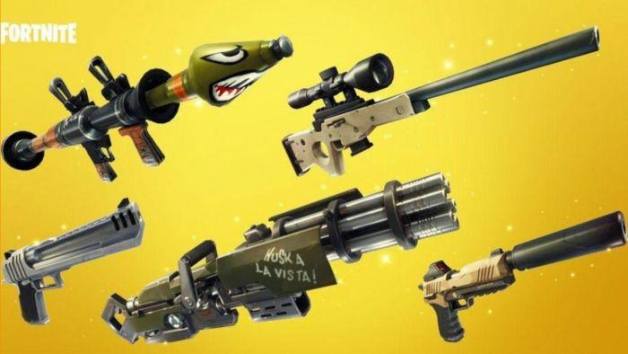 Mejores 5 armas de Fortnite