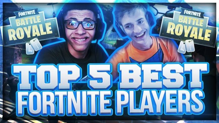 TOP 5 mejores jugadores de Fortnite