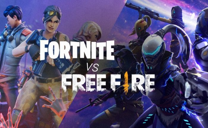 Cual es mejor Fortnite VS FreeFire?