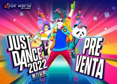 La PREVENTA de Just Dance 2022 ya está disponible en PS4 y PS5!