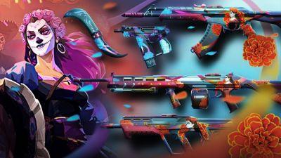 Riot Games celebra el Día de los Muertos en Valorant! El evento tendrá skins temáticas tanto para personajes como para tus armas! Misiones secundarias disponibles en algunos servidores. No te pierdas uno de los festejos más grande de México celebrado en Valorant!