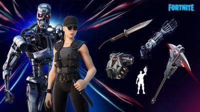 Amigod gamers Fortnite suma Terminator T-800 y Sarah Connor a battle royale. Esta disposable ya estas skins y se pueden comprar por 2800 pavos.