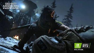 Call of Duty: Warzone y Modern Warfare ya son compatibles con Nvidia DLSS.  La tecnología disponible en tarjetas gráficas de Nvidia GeForce RTX  que aumenta el rendimiento en estos juegos hasta un 70 por ciento a resolución de 4K