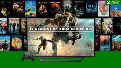 FPS Boost de Xbox Series X/S revolucióna el mundo gaming.