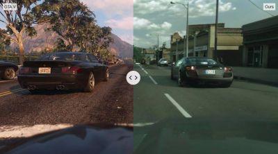 Intel está utilizando el aprendizaje automático para hacer que GTA V parezca increíblemente realista