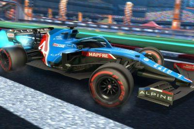 El fan pack de la F1 de Rocket League trae un poco de Mónaco al fútbol automovilístico