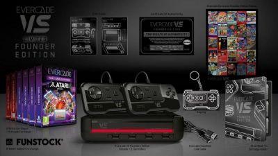 Evercade VS, la nueva consola retro de cartuchos, presenta su Edition llena de objetos para coleccionistas