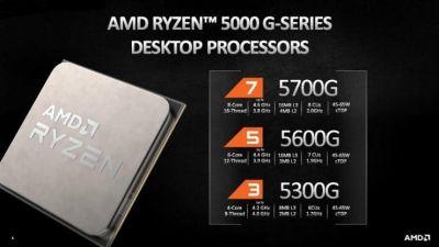 Han conseguido overclockear el procesador AMD Ryzen 3 5300G hasta los 5,60 GHz