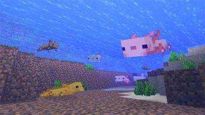 Haz amigos acuáticos y déjate perseguir por bestias ciegas en la última actualización de cuevas de Minecraft.