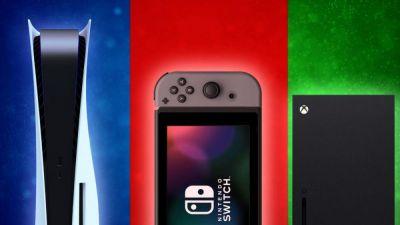 Ventas de las consolas actuales: Nintendo Switch arrasa frente a la competencia Sony Playstation 5 y Microsoft XBOX SERIES X y S