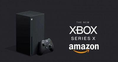 El producto más vendido en la tienda de Amazon en videojuegos y gaming es la consola de Microsoft Xbox Series X. WOW