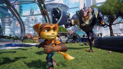 Descubre el espectacular modo foto del videojuego Ratchet & Clank Una Dimensión Aparte de PlayStation.