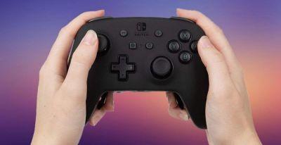 El mando PowerA Fusion Pro Wireless para consola Nintendo Switch con palancas traseras configurables