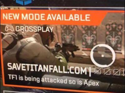 """Un hacker se apodera de Apex Legends; animando a los jugadores a """"salvar Titanfall"""" Es posible que haya visto jugadores que usan hacks para ganar juegos, pero esta vez, este hacker está redirigiendo a los jugadores a un sitio web donde les pide a """"salvar Titanfall""""."""