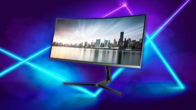 Este monitor gaming de Samsung panorámico, curvo, con 34 pulgadas y resolución 2K, esta de rebaja! Corre y compra lo por un precio de 399 euros con 100 euros de descuento en Mediamarkt.