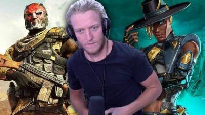 Tfue explica la gran diferencia entre Apex Legends y Warzone en el regreso de Twitch