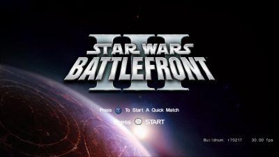 Star Wars Battlefront 3 de Lucasarts, y desarrollado por Free Radical Design, era al parecer, el videojuego más ambicioso de la franquicia, incluso me atrevo a decir, superior a los actuales Battlefront de Electronic Arts. La producción del titulo había empezado en 2006, y se canceló en 2008. El juego iba a tener las mecánicas completas y definitivas, exclusivamente en Xbox 360, PlayStation 3 y PC. Se iban a hacer grandes batallas en Tierra, Cielo y Espacio, todo al mismo tiempo, con escenarios inmensos, detallados, e interconectados, todo en sus diferentes planetas o estaciones espaciales. Según los miembros de Lucasarts decían que era un videojuego mediocre, pero yo no lo creo. Iba a ser una obra maestra esta entrega. En parte la cancelación se debe a que Lucasarts no quiso seguir la producción, porque Free Radical Design opto por desarrollar Haze, su nuevo y temporalmente ultimo juego, un shooter en primera persona que dejó mucho que desear. Por lo tanto nos quedamos sin Battlefront 3, que pudo haber sido un clásico y magnifico juego. Masivo, con muchas tropas en mundos abiertos inmensos, y cruceros espaciales a gran escala. Actualmente Free Radical Volvió, revivió y harán la conclusión de su saga más importante: Time Splitters. En mi opinión Star Wars Battlefront 3 iba a ser el juego definitivo de todo Star Wars.