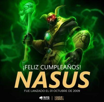Cumpleaños de Nasus!
