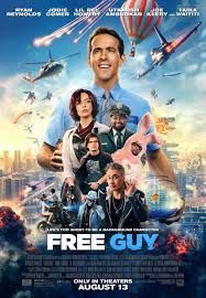 Hola gamers. Habéis visto esta película llamada Free Guy. Va de videojuegos y lo mejor es que el actor principal es Ryan Reynolds el de Deadpool. Es muy buena, graciosa y divertida.