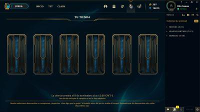 ¡Tu Tienda, las ofertas de skins para los campeones que más usas, ya está disponible en todos los servidores!